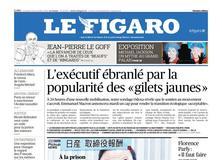 Le Figaro daté du 23 novembre 2018