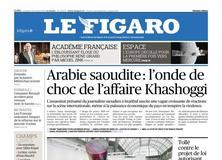 Le Figaro daté du 19 octobre 2018