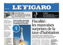 Le Figaro daté du 12 octobre 2018