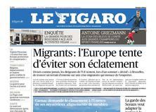 Le Figaro daté du 29 juin 2018