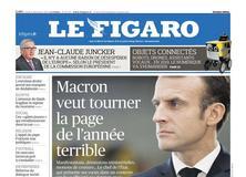 Le Figaro daté du 31 décembre 2018