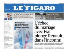 Le Figaro daté du 07 juin 2019