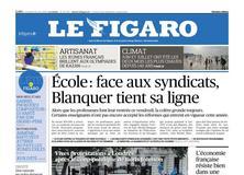 Le Figaro daté du 30 août 2019