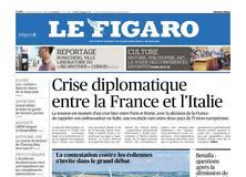 Le Figaro daté du 08 février 2019