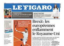 Le Figaro daté du 23 mai 2019