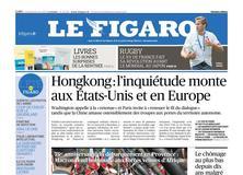 Le Figaro daté du 16 août 2019