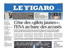 Le Figaro daté du 18 avril 2019