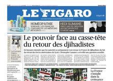 Le Figaro daté du 31 janvier 2019