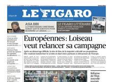 Le Figaro daté du 09 mai 2019