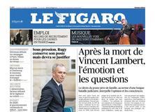 Le Figaro daté du 12 juillet 2019