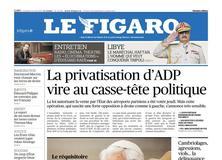 Le Figaro daté du 12 avril 2019