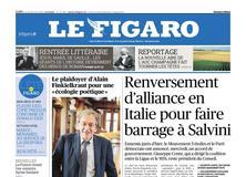Le Figaro daté du 29 août 2019