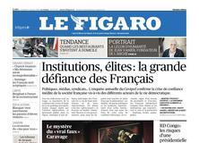 Le Figaro daté du 11 janvier 2019
