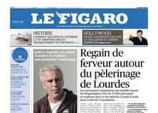 Le Figaro daté du 14 août 2019