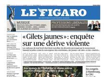 Le Figaro daté du 07 décembre 2018
