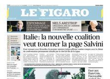 Le Figaro daté du 12 septembre 2019