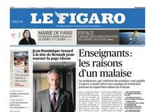 Le Figaro daté du 24 janvier 2019