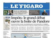 Le Figaro daté du 10 janvier 2019