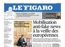 Le Figaro daté du 01 février 2019