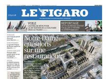Le Figaro daté du 19 avril 2019