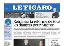 Le Figaro daté du 18 juillet 2019