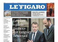 Le Figaro daté du 20 décembre 2018