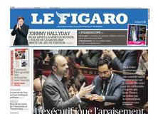 Le Figaro daté du 05 décembre 2018