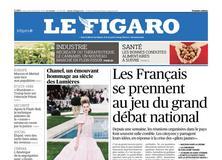 Le Figaro daté du 23 janvier 2019
