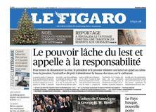 Le Figaro daté du 06 décembre 2018