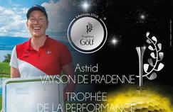 Astrid Vayson de Pradenne «Je ne m'attendais pas au Trophée de la Performance de l'année !»