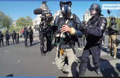 «Gilets jaunes» : la manifestation du samedi 20 avril en caméra embarquée