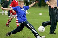 Les blessures du genou en hausse chez les enfants