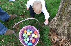 Une chasse aux œufs en toute sérénité