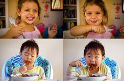 Le secret pour avoir des enfants calmes à table