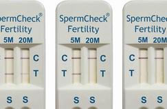 Un test pour dépister soi-même l'infertilité masculine… et après?