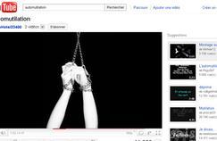 Automutilation : les dangers des vidéos sur Internet