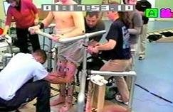 Un paraplégique est parvenu à se remettre debout