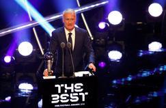 Didier Deschamps élu meilleur entraîneur du monde