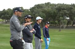 Dans les pas des grands espoirs du golf français