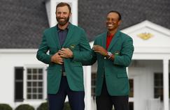 Masters : Dustin Johnson seul au monde à Augusta, Tiger Woods noyé dans l'Amen Corner