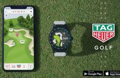 Tag Heuer attaque les greens avec une montre connectée 100 % Golf