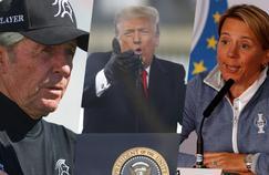 24 heures après le chaos au Capitole, Donald Trump décerne la médaille de la Liberté à trois golfeurs