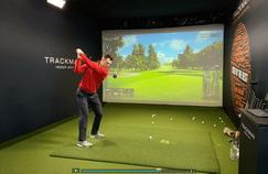 Le Français Mike Lorenzo-Vera défie sur simulateur certains des meilleurs golfeurs européens