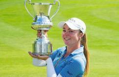 Open d'Italie : encore amateure, la Française Lucie Malchirand gagne chez les pros !