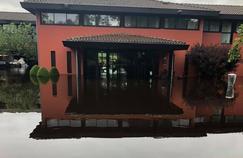 Le Golf du Médoc Resort sous l'eau