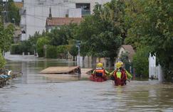 Inondations: Trèbes particulièrement touchée avec 9 morts