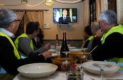 Baisse de la cote de popularité de Macron