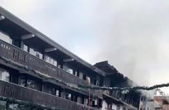 VIDÉO - Deux morts dans un incendie à Courchevel