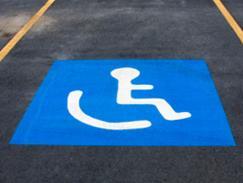 Carte de stationnement pour personnes handicapées