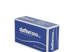 Daflon 500 mg, comprimé pelliculé, boîte de 60